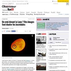 Un ovni devant la Lune? Des images font douter les incrédules