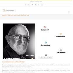 Images interactives et cours de FLE