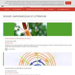 Mathématiques et littérature