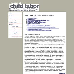 FAQ Child Labor Project