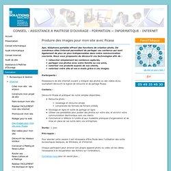 Des images pour mon site avec Picasa - SOLUTIONS MICRO : CONSEIL et ASSISTANCE à MAITRISE D'OUVRAGE, FORMATION, en INFORMATIQUE et sur INTERNET