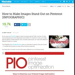 How to Make Images Stand Out on Pinterest [INFOGRAPHIC]