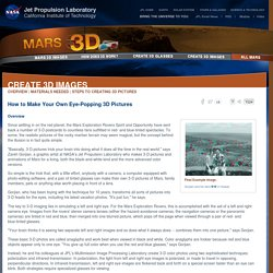 Mars 3D Images - NASA Jet Propulsion Laboratory