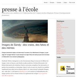 Images de Sandy : des vraies, des fakes et des mèmes