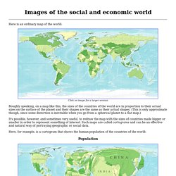 Images of the social and economic world