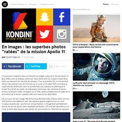 """En images : les superbes photos """"ratées"""" de la mission Apollo 11"""