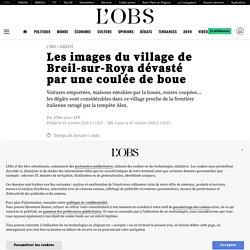 5 oct. 2020 - Les images du village de Breil-sur-Roya dévasté par une coulée de boue