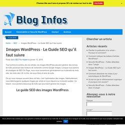 Images WordPress - Le Guide SEO qu'il faut suivre