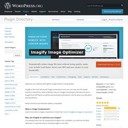 Imagify Image Optimizer — WordPress Plugins