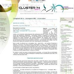 L'imaginaire de la « convergence NBIC » et ses enjeux - Cluster 14