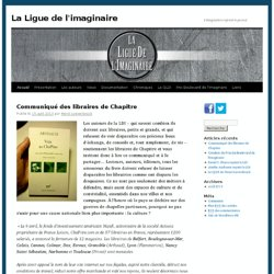 La Ligue de l'imaginaire | L'imagination reprend le pouvoir