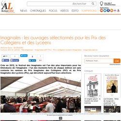 Imaginales : les ouvrages sélectionnés pour les Prix des Collégiens et des Lycéens