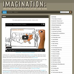 Intro : Imagination: Creating the Future of Education & Work