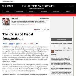 The Crisis of Fiscal Imagination - Dani Rodrik