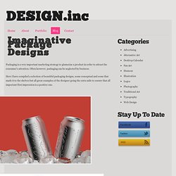 Imaginative Package Designs - Design.inc Blog - StumbleUpon