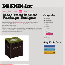 More Imaginative Package Designs - DESIGN.inc Blog - StumbleUpon