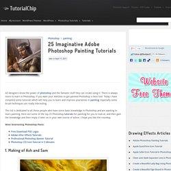 25 Imaginative Adobe Photoshop Painting Tutorials