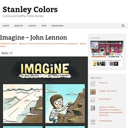Imagine - John Lennon - Stanley Colors