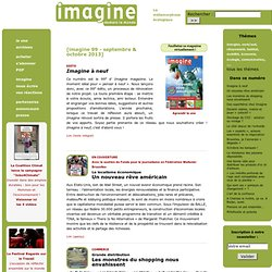 Imagine demain le monde : 99 - septembre & octobre 2013