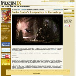 Sacha Dinier's Perspective in Photoshop