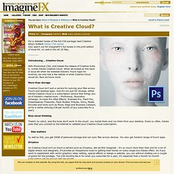 What is Creative Cloud?
