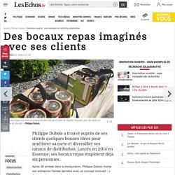 Open innovation : des bocaux repas imaginés avec ses clients - Les Echos Business