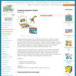 Imaginets Magnetic Shapes (Age 3+)