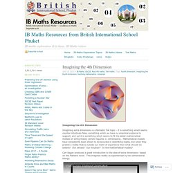 IB Maths Resources from British International School Phuket