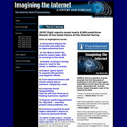 Imagining the Internet