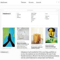 Imbalance 2 Free WordPress Theme