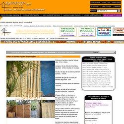 Cloture bambou regulier : Casedesîles