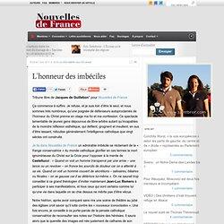 L'honneur des imbéciles « Nouvelles de France