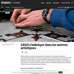 LEGO s'imbrique dans les univers artistiques