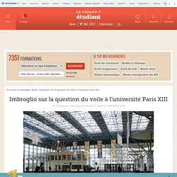 Imbroglio sur la question du voile à l'université Paris XIII
