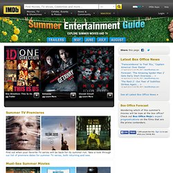 IMDb | Summer Movie Guide 2012