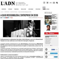iMedia Brand Summit - conférence Joël de Rosnay - FIGURE DE PROUE