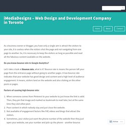 iMediaDesigns – Web Design and Development Company in Toronto