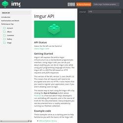 Imgur API