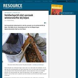 Imidacloprid niet oorzaak wintersterfte bij bijen
