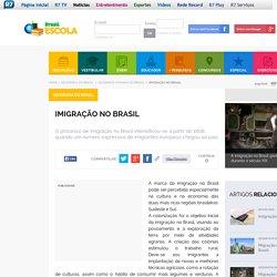 Imigração no Brasil. Aspectos da imigração no Brasil