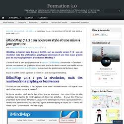 iMindMap 7.1.2 : un nouveau style et une mise à jour gratuite