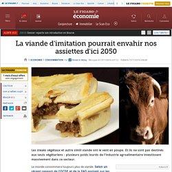 La viande d'imitation pourrait envahir nos assiettes d'ici 2050
