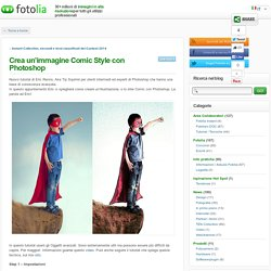 Crea un'immagine Comic Style con Photoshop ← Fotolia IT