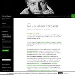 AAA – Immagini cercansi - Marco Olivotto