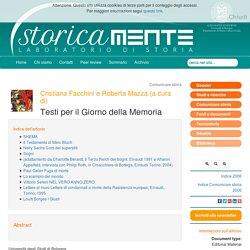 Anno zero Testi, immagini e poesie per Il Giorno della Memoria a cura di Cristiana Facchini e Roberta Mazza