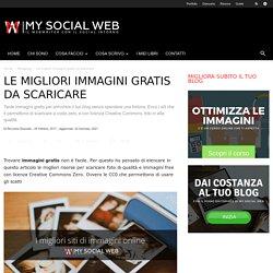 Trovare immagini gratis per il blog