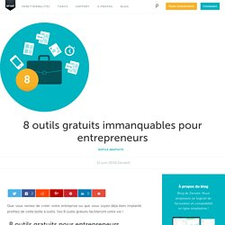 8 outils gratuits immanquables pour entrepreneurs