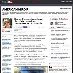 Plaque d'immatriculation et liberté d'expression: controverse aux Etats-Unis