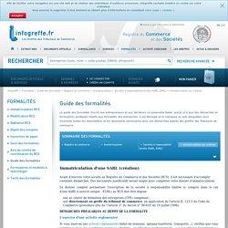 Immatriculation : création d'une entreprise de type juridique SARL