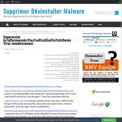 Suppression bc1qffvcmeevmkr3twv7sa8tsxh5nd7m7tcht0unke Virus Immédiatement - Supprimer Désinstaller Malware